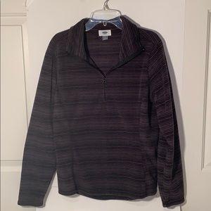 Fleece half-zip jacket